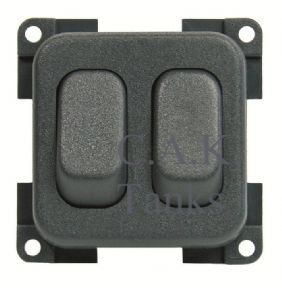 CBE TWIN ON OFF ROCKER SWITCHES GREY